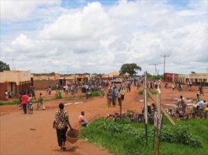 village trading centre en route to Lilongwe