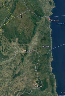 Chitimba Map